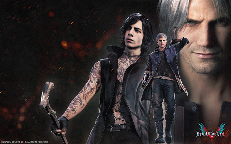 Devil May Cry 5 桌布